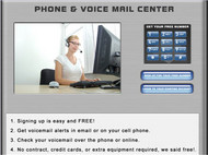 Answering Machine Voice Mail Center screenshot